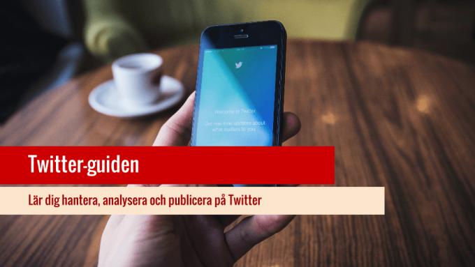 Twitter-guiden för sociala medier.