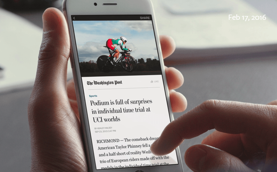 Instant Articles från Facebook