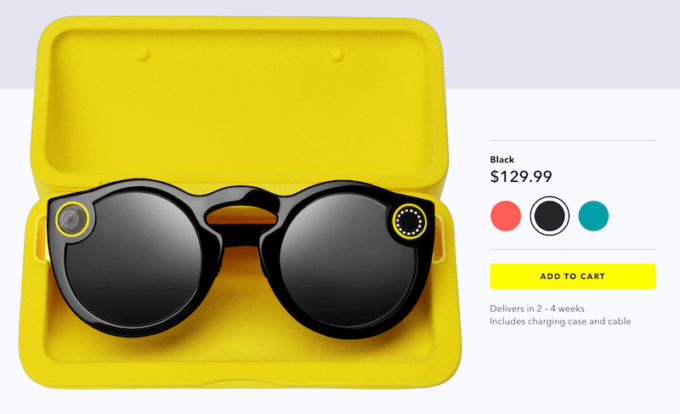 Spectacles - glasögon från Snap Inc
