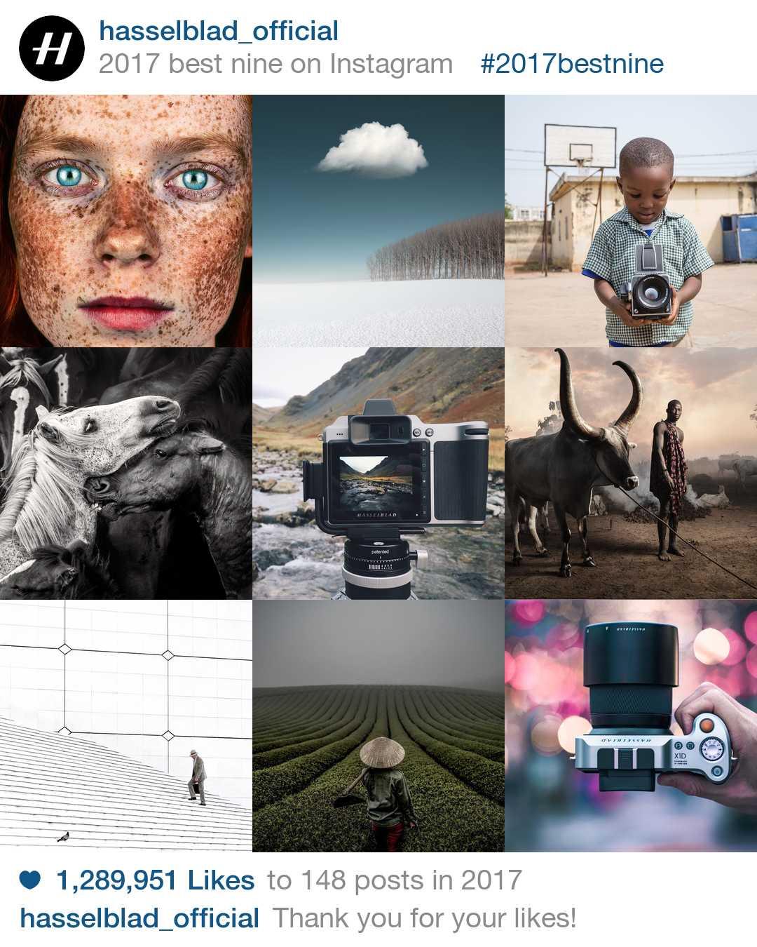 Hasselblads 9 bästa Instagrams 2017
