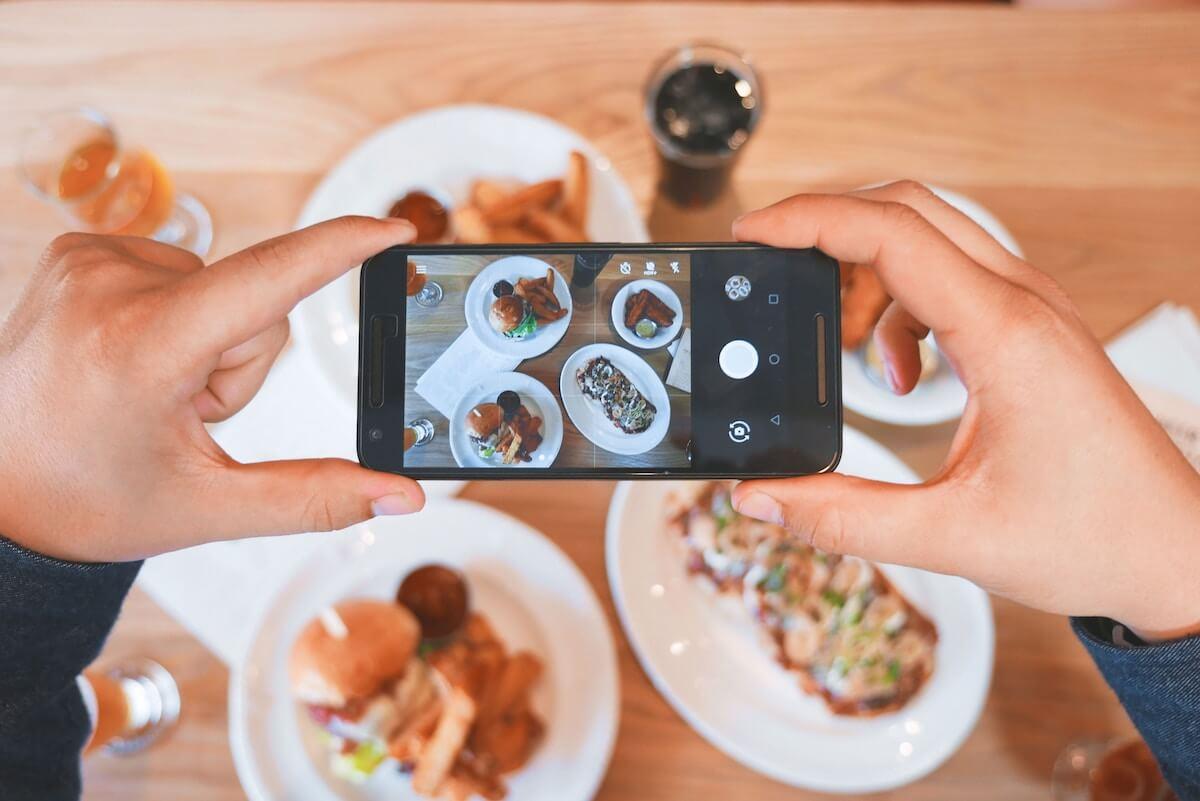 Fotografering av mat