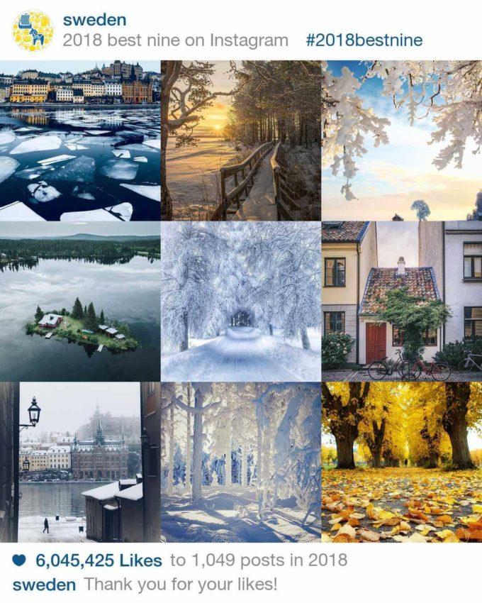 Sverige (Sweden) på Instagram
